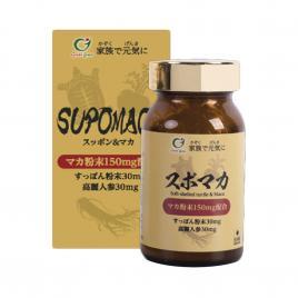 Viên uống hỗ trợ tăng cường sinh lý nam Genki Fami Supo Maca 90 viên