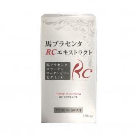 Viên uống nhau thai ngựa Ably Horse Placenta RC Extract 180 viên (Nội địa Nhật Bản)