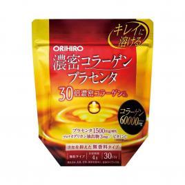 Bột bổ sung Collagen và nhau thai heo Orihiro 60,000mg 120g