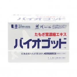 Nước uống hỗ trợ tăng miễn dịch chiết xuất nấm Tamogi BBB Inc Bio God (Hộp 30 gói x 80ml)