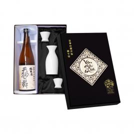 Hộp quà rượu Sake Tenguman Junmai Yamahai Jikomi 720ml