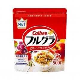 Ngũ cốc trái cây Calbee Nhật Bản 500g