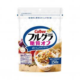 Ngũ cốc hoa quả tổng hợp giảm 25% đường Calbee 150g