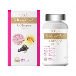 Viên uống Collagen ngăn ngừa lão hóa Nucos Cells-up Collagen 250mg 180 viên