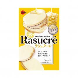 Bánh quy vị socola trắng Bourbon Rasucre 100g