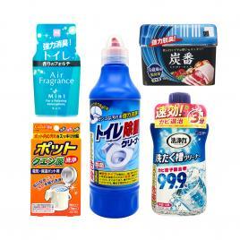 Bộ 5 sản phẩm khử mùi và tẩy rửa hiệu quả