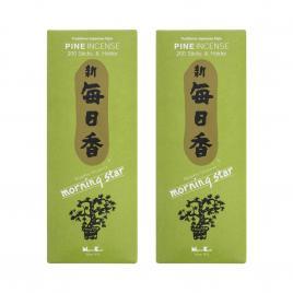 Combo 2 hộp hương Nippon Kodo Morning Star Pine 200 que (Hương gỗ thông)