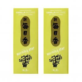 Combo 2 hộp hương Nippon Kodo Morning Star Vanilla 200 que (Hương cây vani)