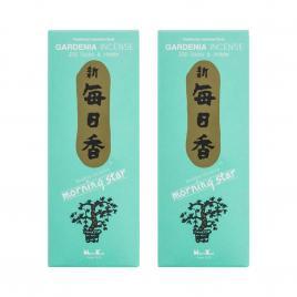 Combo 2 hộp hương Nippon Kodo Morning Star Gardenia 200 que (Hương hoa dành dành)