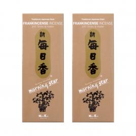 Combo 2 hộp hương Nippon Kodo Morning Star Frankincense 200 que (Hương trầm Frankincense)