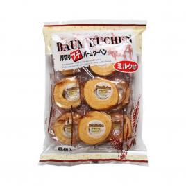 Bánh bông lan cuộn Marukin Baumkuchen Mini 190g (9 cái)