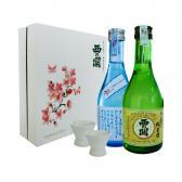 Hộp quà Tết Tấn Tài Tấn Lộc - Nishi no Seki Hiya & Junmaishu 300ml