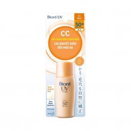 Sữa chống nắng lót nền Bioré UV Color Control CC Milk SPF 50+ PA++++ 30ml