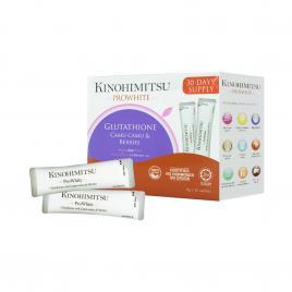 Bột uống tái tạo tế bào gốc và thải độc cơ thể Kinohimitsu Prowhite 30 gói