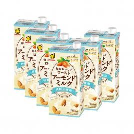 Combo 6 hộp sữa hạnh nhân không đường Marusan Original 1000ml