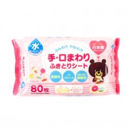 Khăn giấy ướt tinh khiết Nhật Bản Kyowa Misera (80 tờ)