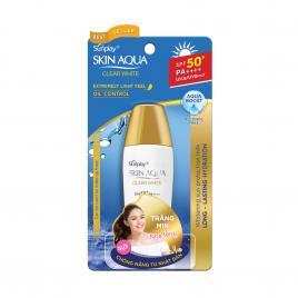 Sữa chống nắng dưỡng trắng Sunplay Skin Aqua Clear White SPF50+ PA++++ 25g (Dành cho da dầu)