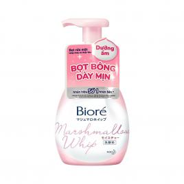 Bọt rửa mặt dưỡng ẩm Bioré Marshmallow Whip Moisture 150ml