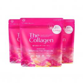 Combo 3 gói bột Shiseido The Collagen Nhật Bản 126g