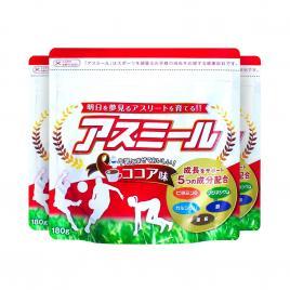 Combo 3 gói sữa tăng chiều cao dành cho bé Ichiban Boshi Asumiru 180g (Vị cacao)