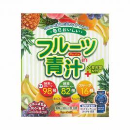 Bột mầm lúa mạch trái cây Aojiru (24 gói x 3g)