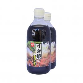 Combo 2 chai nước sốt lẩu Bell Foods Sukiyaki 400ml