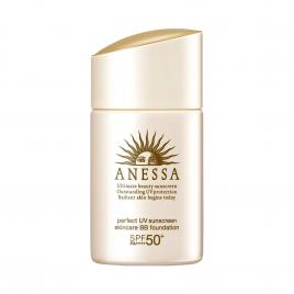 Kem nền chống nắng Anessa Perfect UV Sunscreen Skincare BB Foundation SPF50+/ PA++++ 25ml
