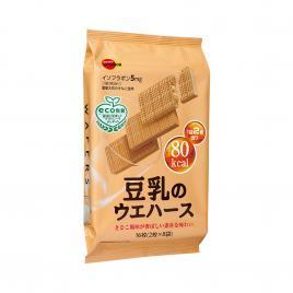 Bánh xốp Bourbon vị sữa đậu nành 113g (16 bánh)