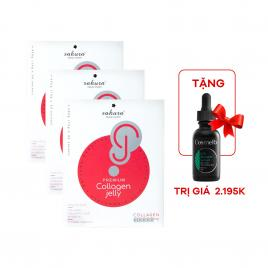 Combo 3 hộp thạch Collagen Sakura Premium Jelly 30,000mg (3 hộp x 30 thanh)