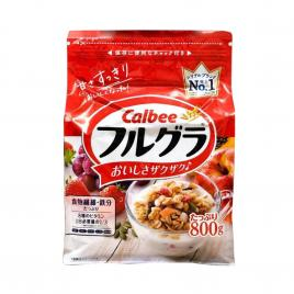 Ngũ cốc trái cây Calbee Nhật Bản 800g