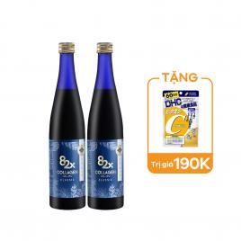 Combo 2 chai nước uống Collagen Mashiro 82x Classic New 120.000mg 500ml