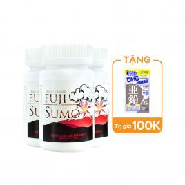 Combo 3 hộp viên uống hỗ trợ tăng cường sinh lý nam giới Fuji Sumo 100 viên