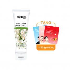 Kem trắng da toàn thân chống nắng chứa Collagen Nagano (75ml)