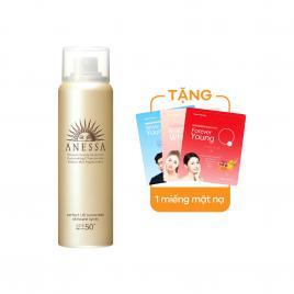 Chống nắng dạng xịt Anessa Perfect UV Spray Sunscreen Aqua Booster 60ml