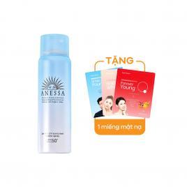 Xịt chống nắng dạng bọt Anessa Perfect UV Sunscreen Bubble Spray SPF 50+ PA++++ 60g