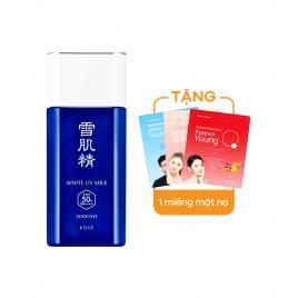 Kem chống nắng Kose Sekkisei Skincare UV Milk Kit SPF50+/PA++++ 56ml