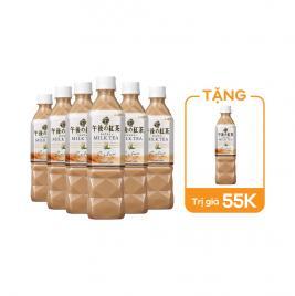 Combo 6 chai trà sữa Kirin Beverage 500ml