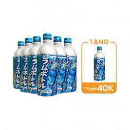 Combo 6 chai nước giải khát Sangaria 500ml