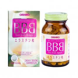 Viên uống hỗ trợ nở ngực Orihiro BBB Best Body Beauty 300 viên