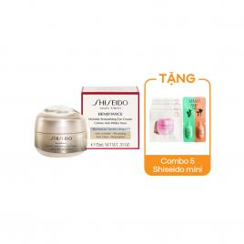 Kem dưỡng vùng mắt Shiseido Benefiance Wrinkle Smoothing Eye Cream 15ml