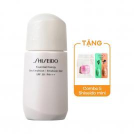 Sữa dưỡng da Shiseido Essential Energy Day Emulsion 75ml