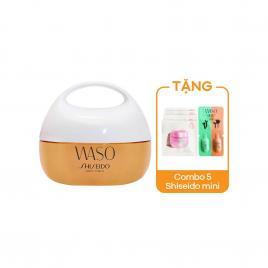 Kem dưỡng cà rốt ẩm mịn 24h Shiseido Waso Clear Mega - Hydrating Cream 50ml