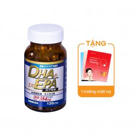 Viên uống bổ não DHA/EPA Wellness Japan Soft Capsule 120 viên