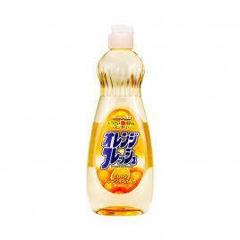 Nước rửa bát chén hương cam Rocket 600ml (Dạng chai)