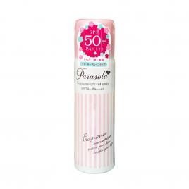 Xịt chống nắng Naris Parasola Essence In UV Cut Spray SPF50+ PA++++ 50g (Hương hoa hồng)