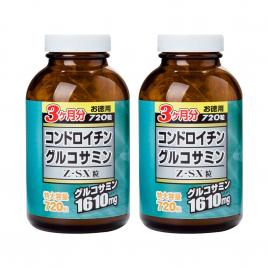 Combo 2 hộp viên uống bổ xương khớp JpanWell Glucosamine Chondroitin Z-SX 720 viên