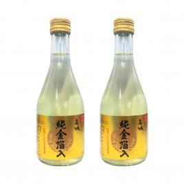 Combo 2 chai rượu Sake vảy vàng Masaki Jun 300ml