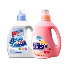 Bộ đôi nước giặt và nước xả Mitsuei