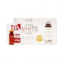 Nước uống Collagen trắng da, giảm nám Nucos Super White (Hộp 10 chai x 50ml)