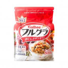 Ngũ cốc trái cây Calbee Nhật Bản 800g (Date T8.21)